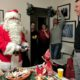 Santa Giving Gifts
